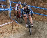 Van Gilder in the lead heading into the first beach section. © Todd Prekaski