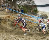 Racers circle through the second beach section . © Todd Prekaski