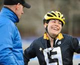 Crystal Anthony post race. © Natalia Boltukhova | Pedal Power Photography