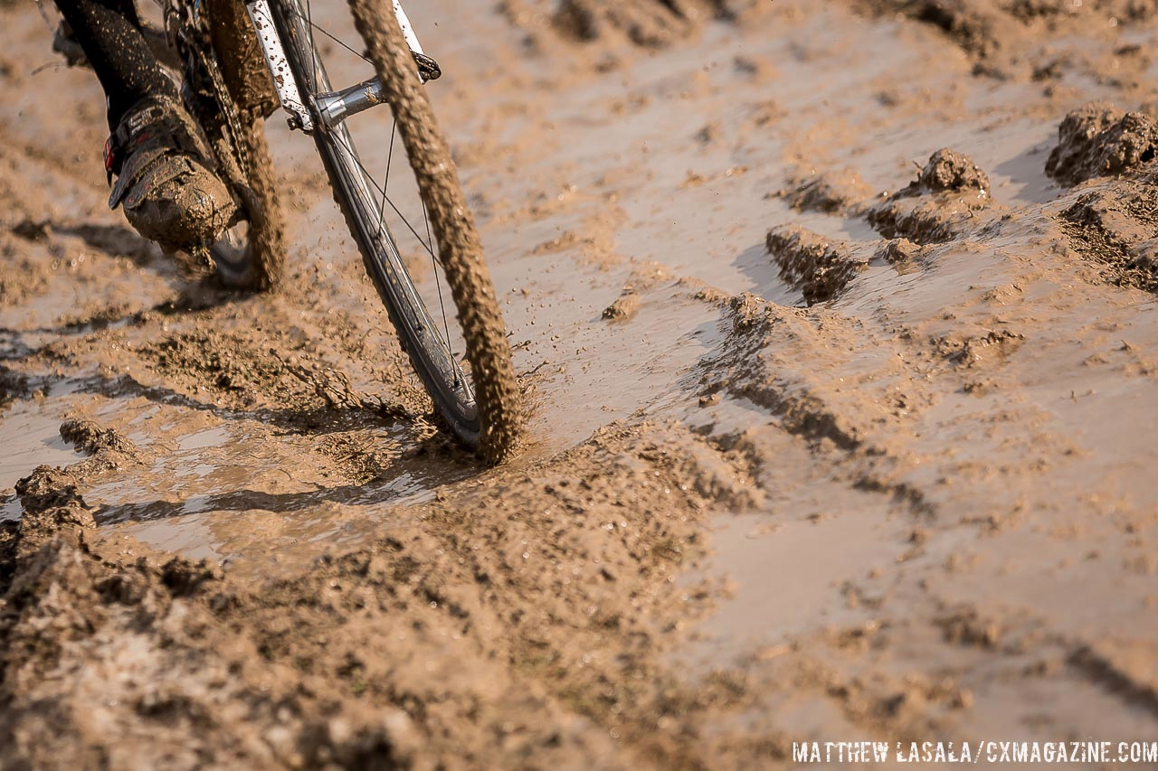 Snow is thawing, creating more mud. © Mathew Lasala