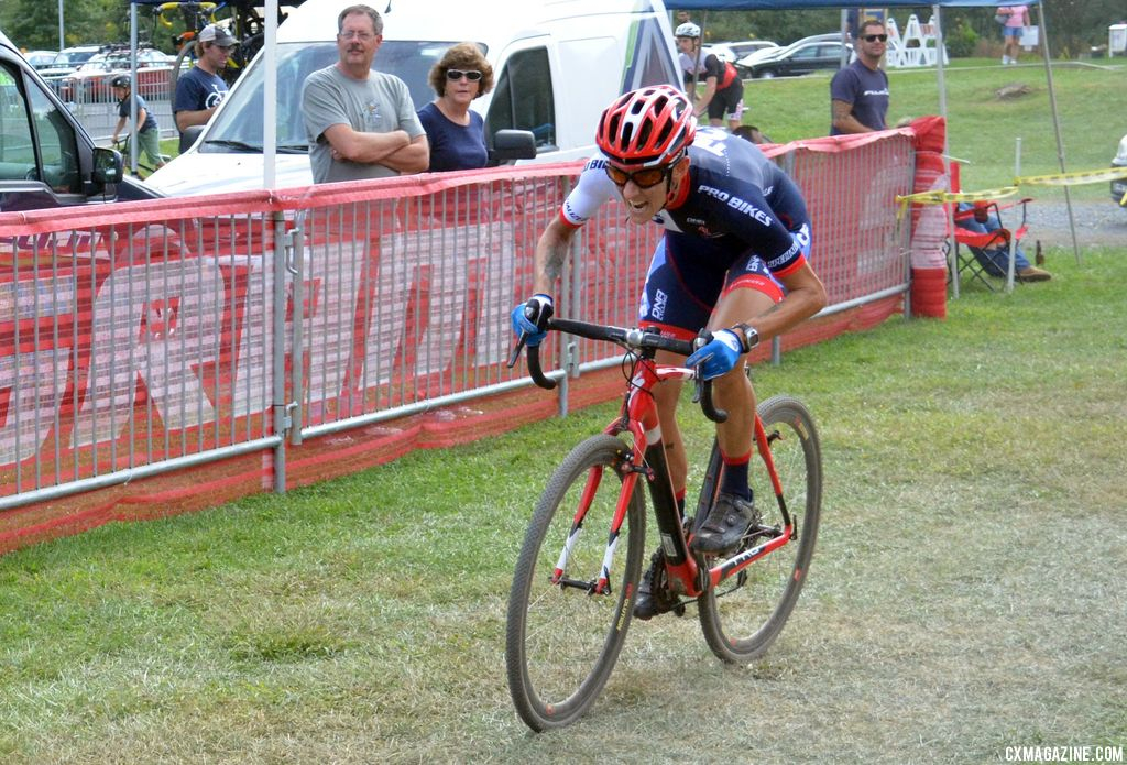Nikki Thiemann at Nittany Lion Cross Day 2 2013. © Cyclocross Magazine