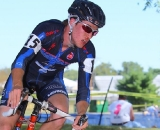 Zach Adams exhibits early season hurt. © Anthony Skorochod / cyclingcaptured.com