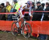Stybar navigates an off-camber section of the World Cup course. ? Bart Hazen