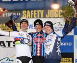 Vos, Compton and Van Paassen (l-r)on the podium. ? Bart Hazen