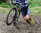 GabbyDay runs through the mud. ©  Jeff Bramhall