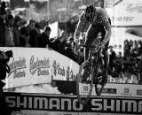 Sven Nys bunnyhops the planks in Tabor Part 8 ? Joe Sales