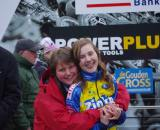 Femke Laansens and mom Anneke - big supporters of mine. © Jonas Bruffaerts
