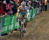 Wellens takes the packed line through the sand. ? Bart Hazen