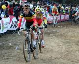 Nys was aggressive in his racing to make sure he would take the overall GVA series.