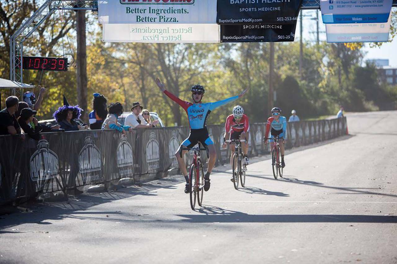 The young Spencer Petrov notches a big win at OVCX. © Kent Baumgardt