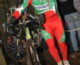 Enrico Franzoi's Italian National Champion kit is in the spirit of the season. ? Bart Hazen