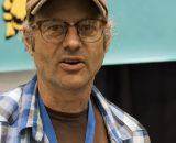 Paul Sadoff of Rock Lobster at NAHBS 2012. ©Cyclocross Magazine