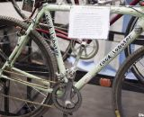 Paul Sadoff's personal Rock Lobster team bike at NAHBS 2012. ©Cyclocross Magazine