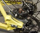 Formula's R1 brakes paired with a 324 Labs Brake Adapter handles the stopping on this Rock Lobster at NAHBS 2012. ©Cyclocross Magazine