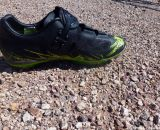 The Pearl Izumi flex-sole X-Project shoes are made for a good ride - and run. © Cyclocross Magazine