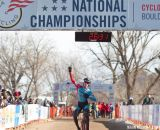 Petrov Takes Junior 15-16 Win at the 2014 National Cyclocross Championships. © Brian Nelson