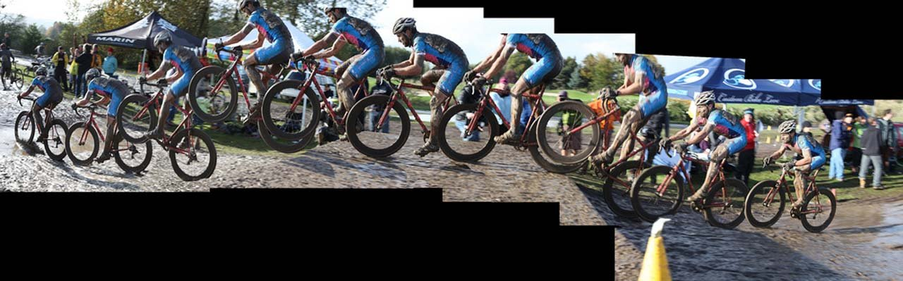 Tony Pic panorama compilation shot - bikes are for riding ©Matt Haughey