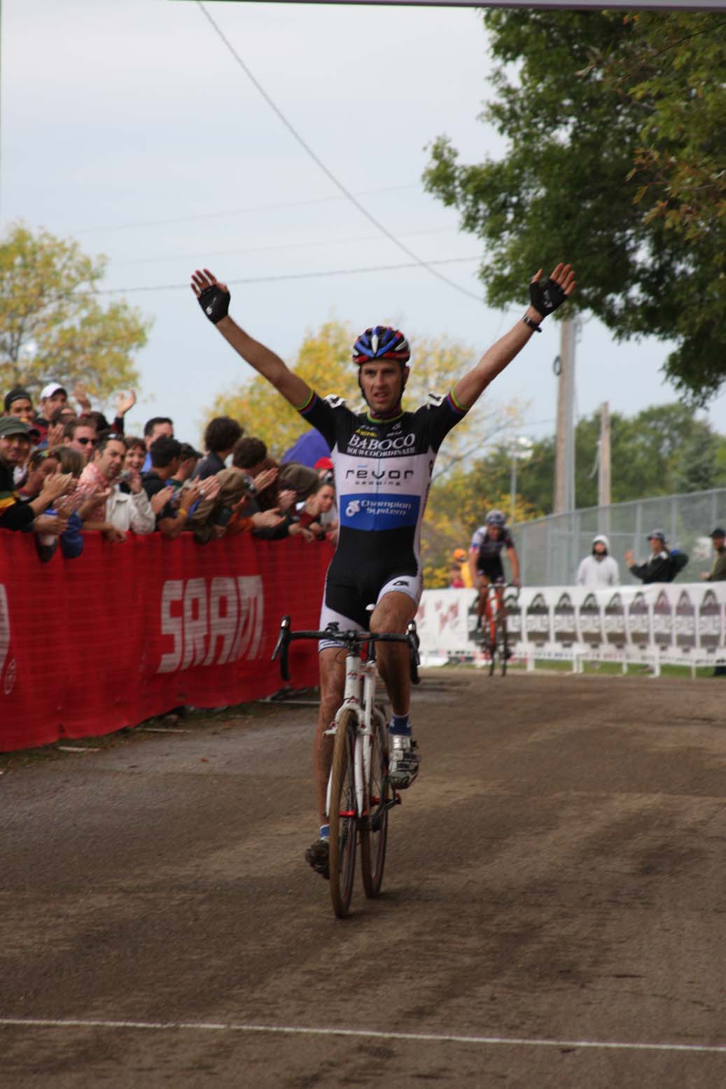 Erwin Vervecken took his only win of his American tour. by Amy Dykema