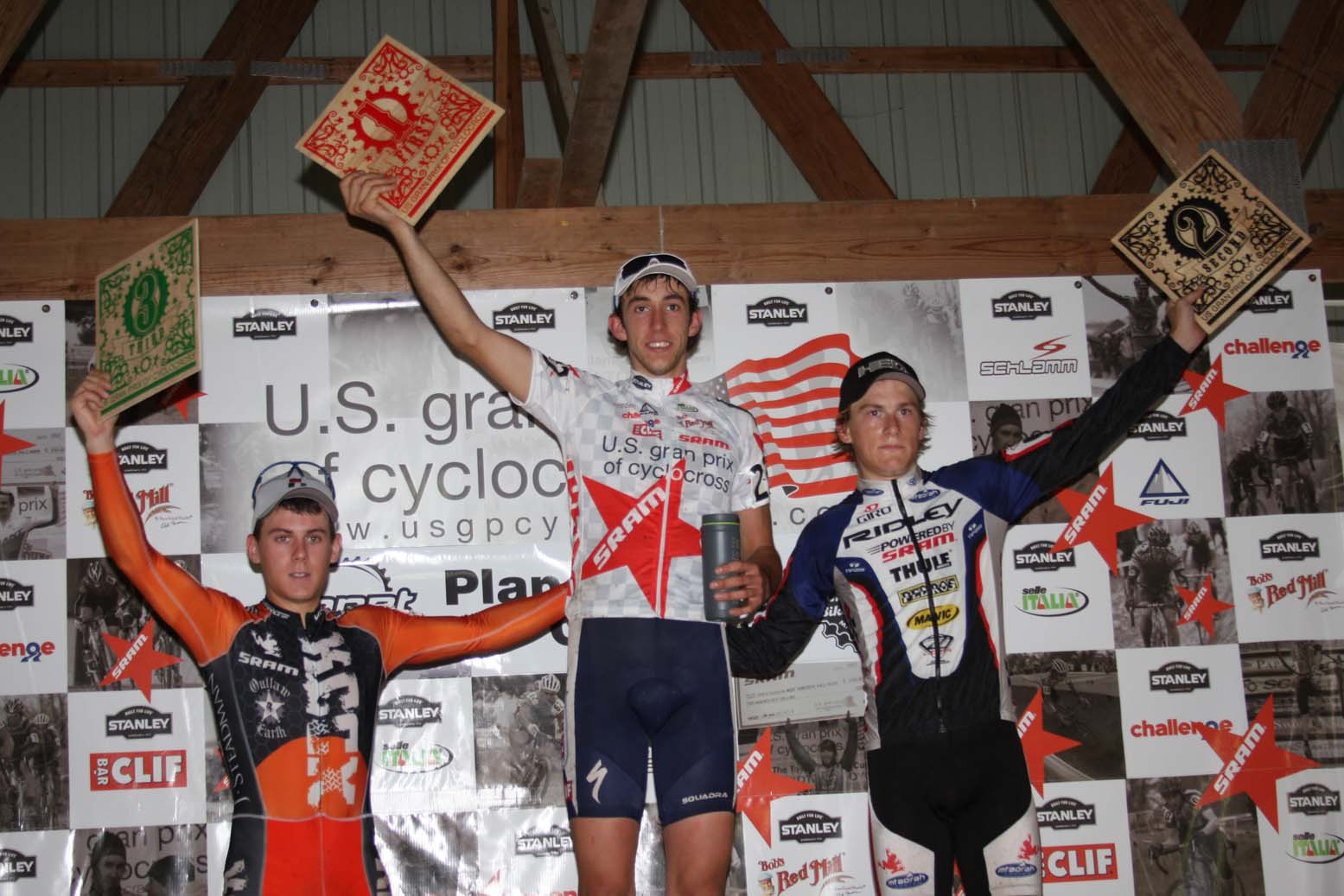 Chance Noble took another U23 victory of the USGP series. by Amy Dykema