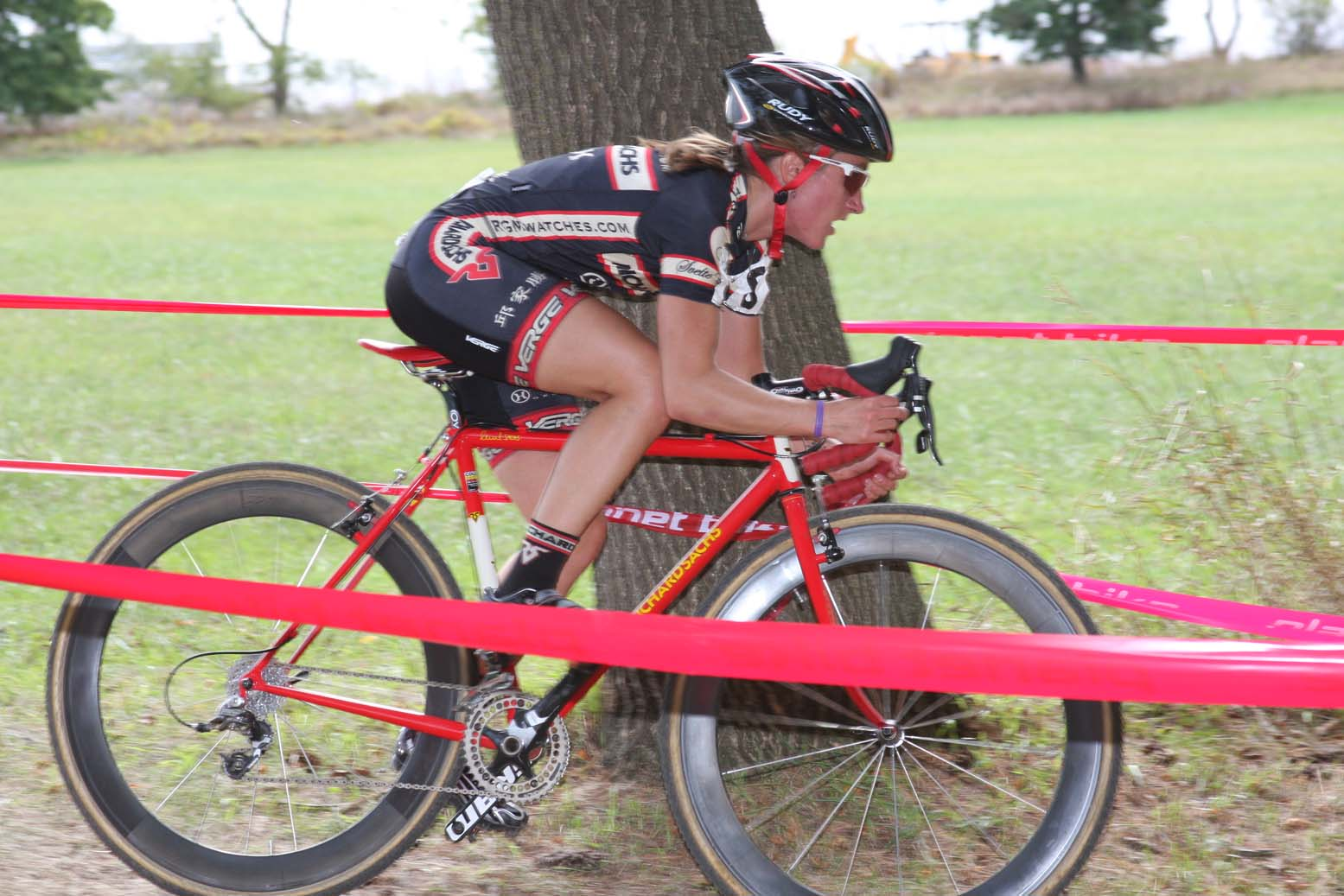 Amy Dombroski wrapped up another solid weekend. by Amy Dykema