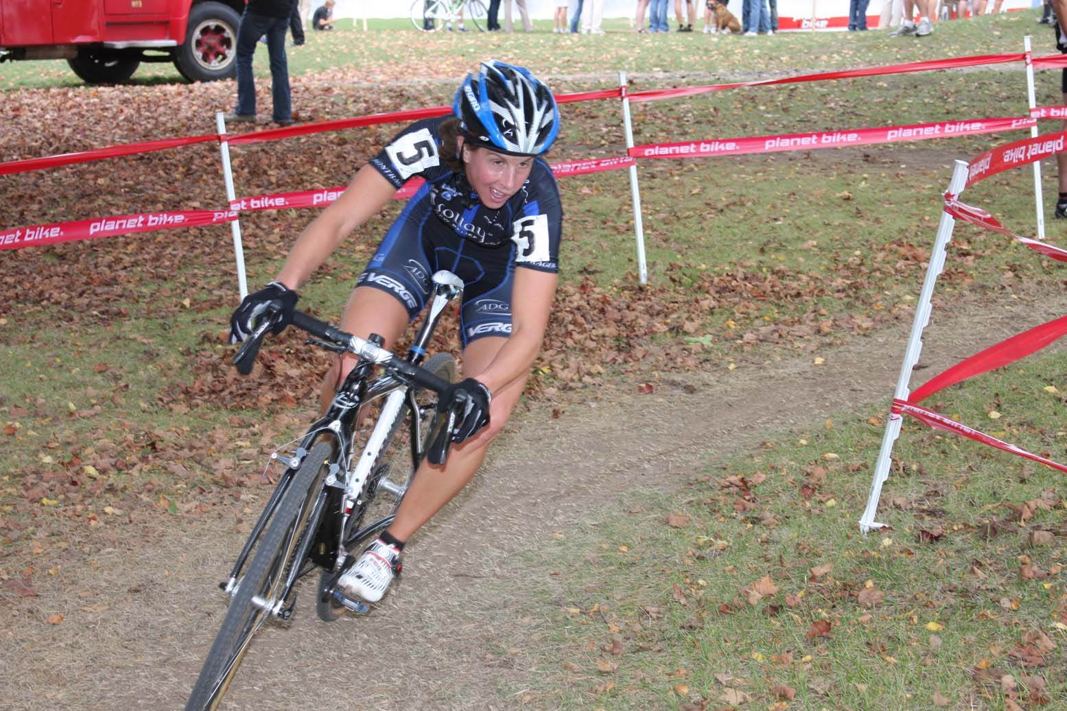 Deidre Winfield rode her way into eighth place. by Amy Dykema