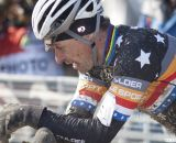 Wondering what could have been. Pete Webber at the finish, with 3rd place. Masters Men 40-44. © Cyclocross Magazine