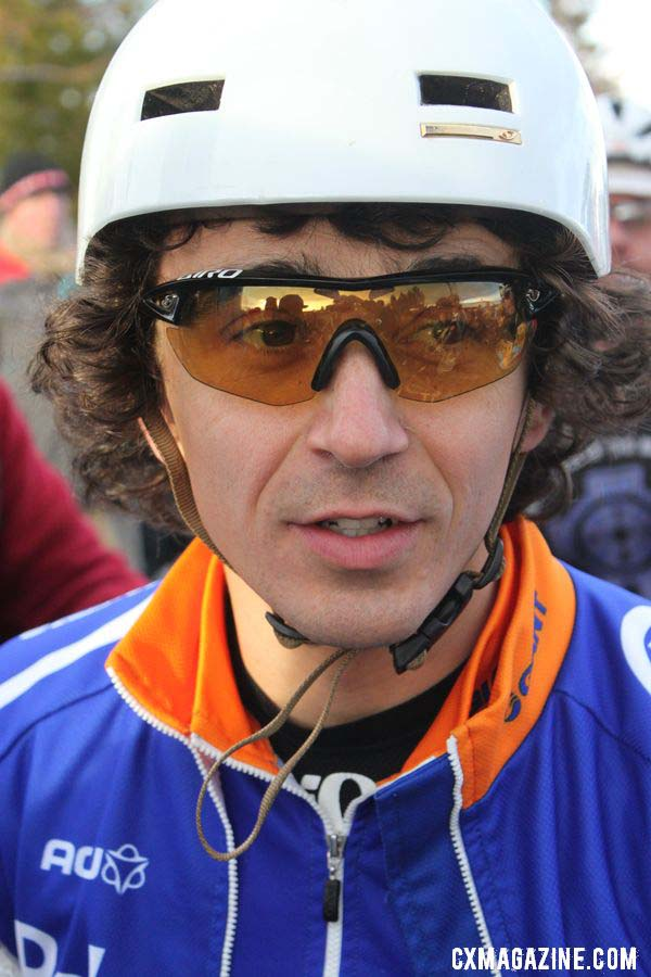 Craig before the start of the race. © Cyclocross Magazine