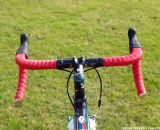 The one with the red handlebar tape. © Christine Vardaros