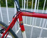 Seatpost is Zipp, and note the detail on the paint job.© Cyclocross Magazine