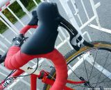 Handlebars and tape are by Zipp. © Cyclocross Magazine
