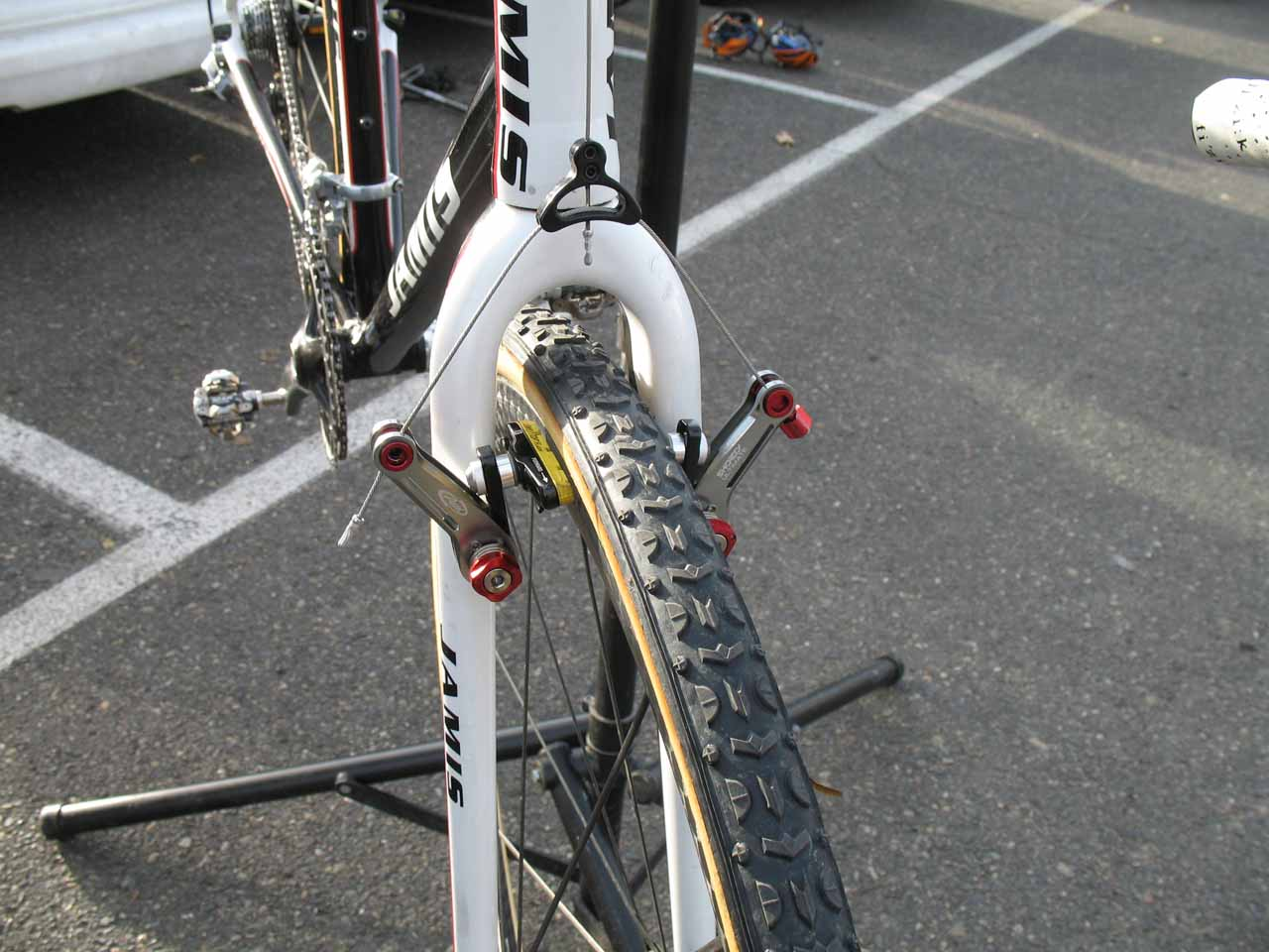 Stopping duties are given to the new Avid Shorty Ultimates. ? Cyclocross Magazine
