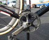 Anthony runs SRAM Red, with the exception of the Force front derailleur cage. ? Cyclocross Magazine