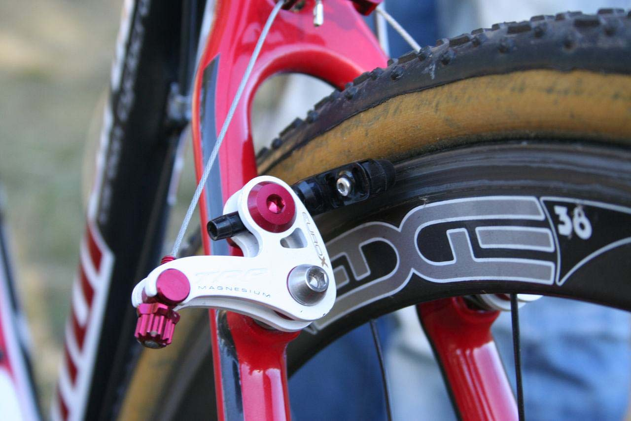 EuroX Magnesiums stoppers. © Cyclocross Magazine