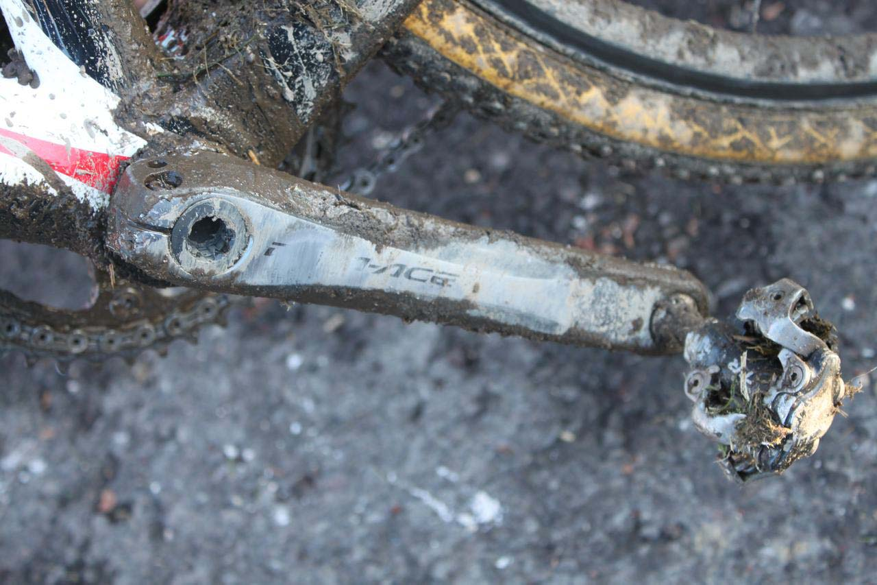 Dura Ace and XTR are proven components for any conditions. © Cyclocross Magazine