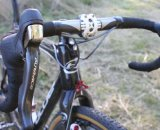 Page trusts Dura Ace 10-speed shifters. © Cyclocross Magazine