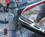 Tapered head tubes are a new trend in 'cross. © Cyclocross Magazine