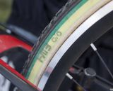FMB SSC 33mm tubulars. But only national champs get National Championship colors. © Cyclocross Magazine