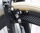 4ZA Cirrus Pro cantilever brakes on the X-Knight. © Cyclocross Magazine