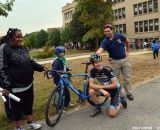 The Raleigh Clement team at Nathaniel Green Middle School. © Cyclocross Magazine