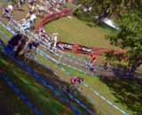 A sea of course tape © Cyclocross Magazine