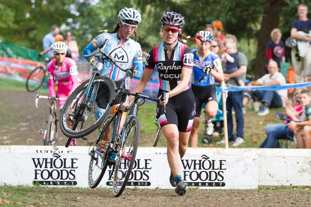 Durrin takes the barriers leading the chase at Providence Day 1 2013. © Todd Prekaski