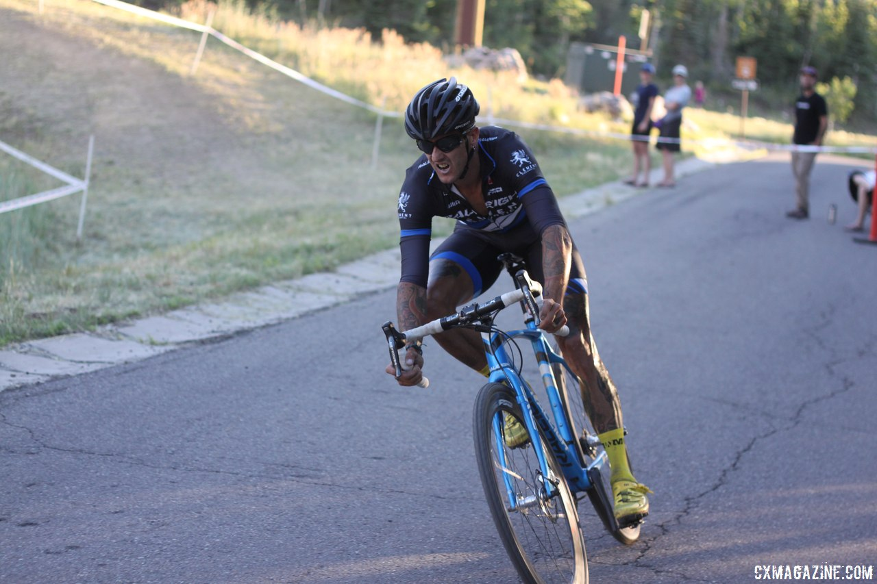 Ben Berden finished third, and was gracious in recognizing Decker\'s talent.  © Cyclocross Magazine