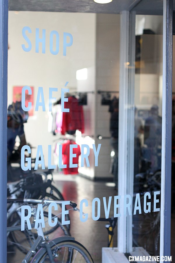 Rapha Cycle Club\'s Cafe and Gallery. © Cyclocross Magazine