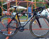 Gagne's special Team Edition carbon Rocky Mountain Solo CX. © Cyclocross Magazine