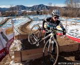 Lindsay Knight in the women's 30-34 race at USA Cycling National Championships of Cyclocross. © Matt Lasala