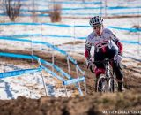 Melinda McCutcheon in the women's 30-34 race at USA Cycling National Championships of Cyclocross. © Matt Lasala