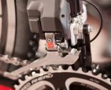 The Shimano Ultegra Di2 FD-6770 front derailleur aims to shift your chain even under load. © Cyclocross Magazine