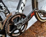 Shimano XTR pedals with SLK Compact cross, 170 mm cranks. © Cyclocross Magazine