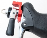 The right lever of the Retroshift brake lever shifters. © Cyclocross Magazine