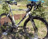 The2013 Ridley X-Night top-of-the-line carbon cyclocross bike with SRAM Red. ©Cyclocross Magazine